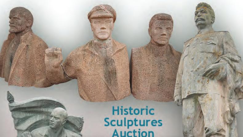 Deutschland: Lenin, Thälmann und Stalin zu verkaufen - Denkmäler der DDR kommen unter den Hammer