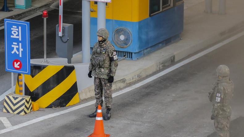 Nordkoreanischer Soldat flüchtet über Grenze nach Südkorea
