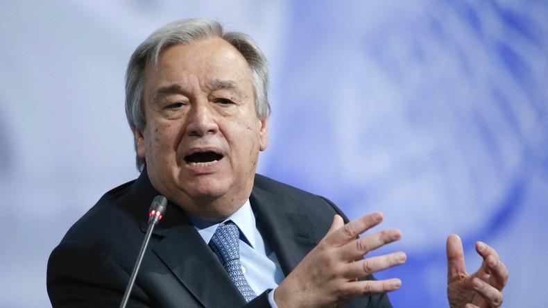 UN-Chef António Guterres trifft zu Überraschungsbesuch in Kabul ein