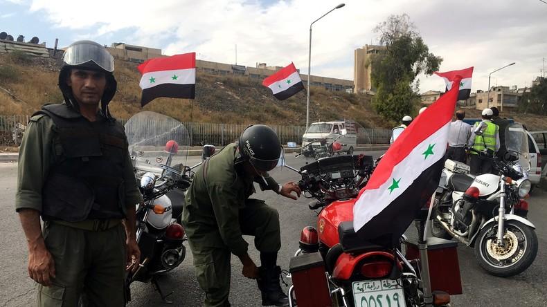 Acht Polizeireviere eröffnen in Aleppo