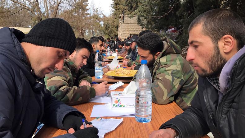 Fast 50 syrische Ortschaften schließen sich Waffenstillstandsabkommen an