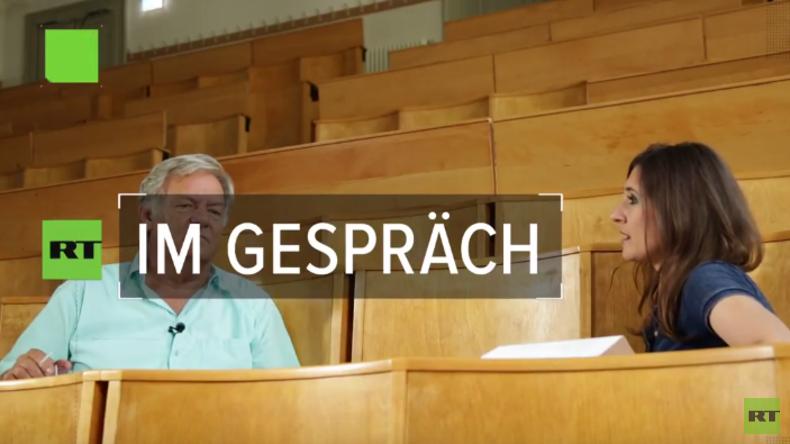 """RT Deutsch Exklusiv zum Klimawandel: Prof. Dr. Kirstein """"CO2 ist harmlos"""""""