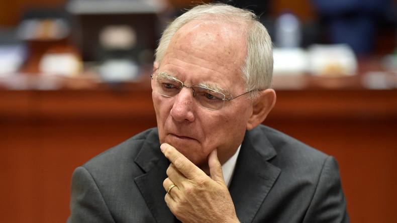 Schäuble rechnet mit Einigung zu Griechenland-Hilfen