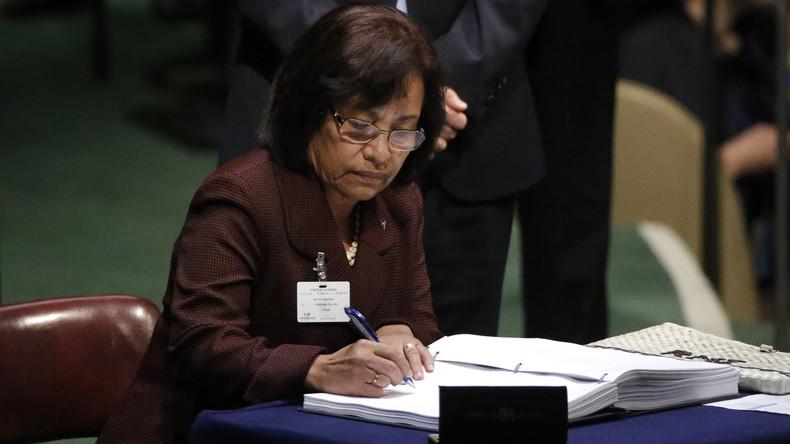 Präsidentin der Marshallinseln bittet EU um Hilfe wegen Klimawandel
