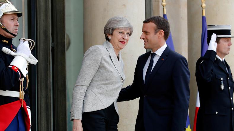 Élysée-Palast schließt Video-Agentur Ruptly von Macron-May-Sitzung aus