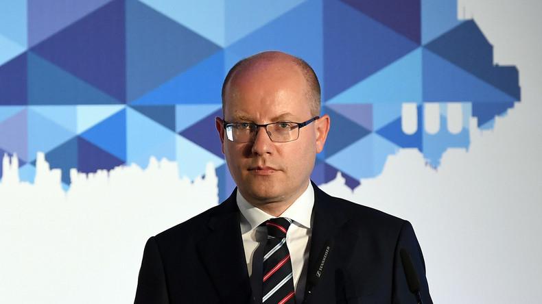 Tschechiens Ministerpräsident Bohuslav Sobotka tritt als Parteichef zurück