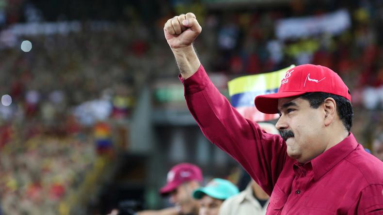 Venezuelas Präsident wirft Oppositionsführern Hetze und Drogendeals vor