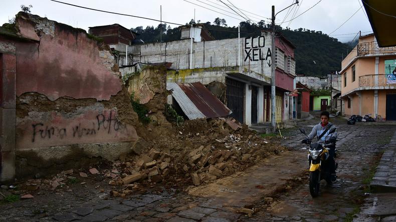 Erdbeben in Guatemala: Zahl der Toten steigt auf fünf
