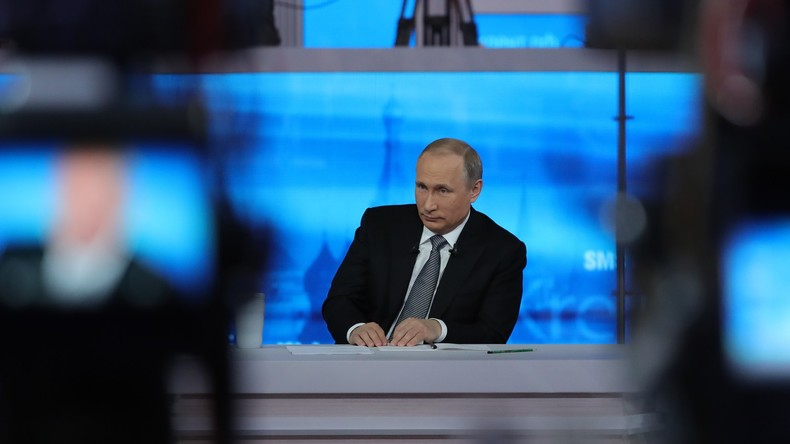 """""""Heißer Draht"""" mit Wladimir Putin – Live-Updates"""
