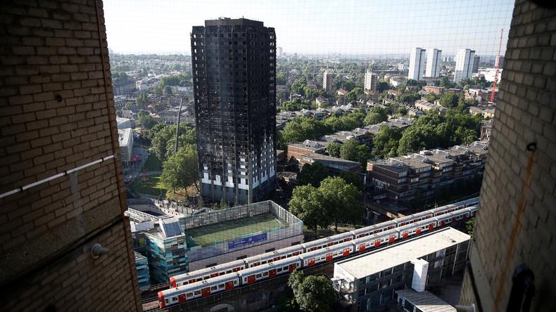 Nach Großbrand in London: Rettungsaktionen im Hochhaus wegen zu hoher Gefahr abgebrochen - Live