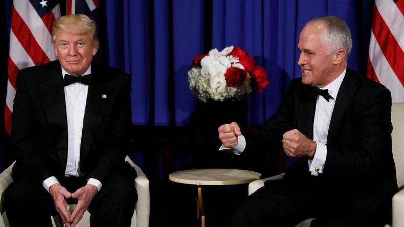 """""""Ich kenne da so einen russischen Kerl"""" – Australischer Premier Turnbull parodiert Trump"""