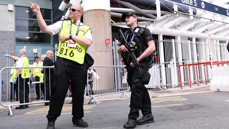 Rekordzahl von Terrorverdächtigen in Großbritannien festgenommen