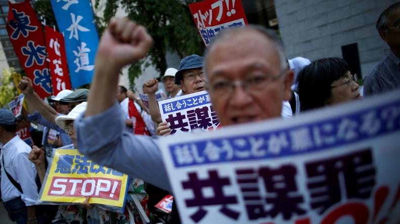 Japan verabschiedet trotz Protesten umstrittenes Anti-Terror-Gesetz