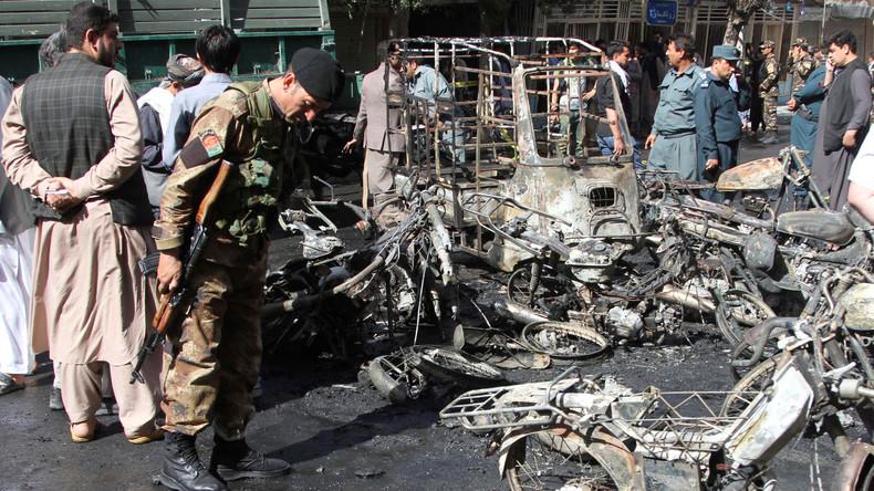 Mindestens zwei Tote bei Anschlag auf schiitischeMoschee in Kabul