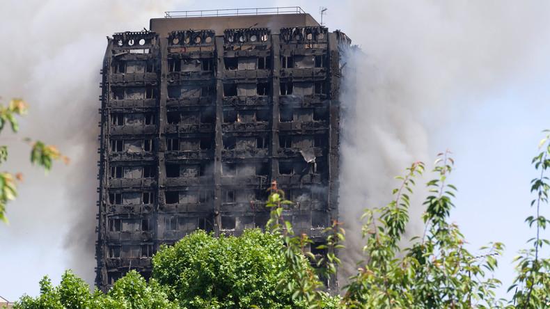 Solidaritätskundgebung  für Opfer des Hochhausbrands in London für heute angesetzt