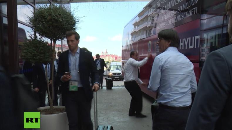 FIFA-Cup 2017 in Russland: Jogi und seine Jungs treffen in Sotschi ein