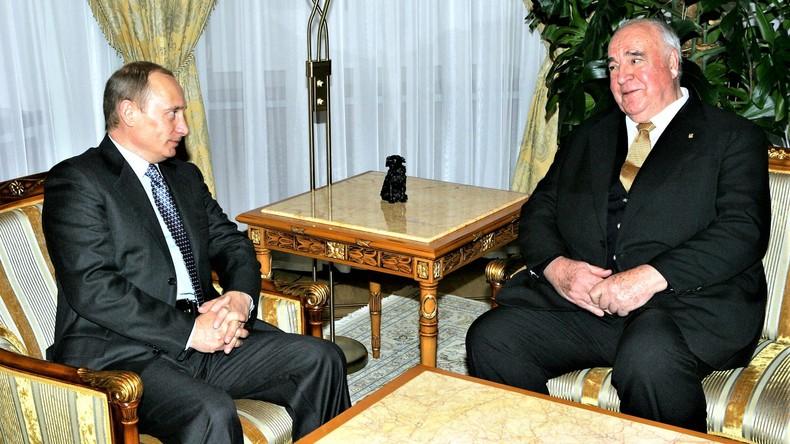 Ich war von Kohl begeistert: Putin trauert mit den Deutschen um verstorbenen Altkanzler