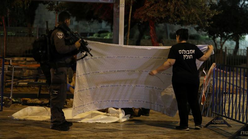 Palästinenser greifen Sicherheitskräfte in Jerusalem an – Eine Polizistin und drei Angreifer tot