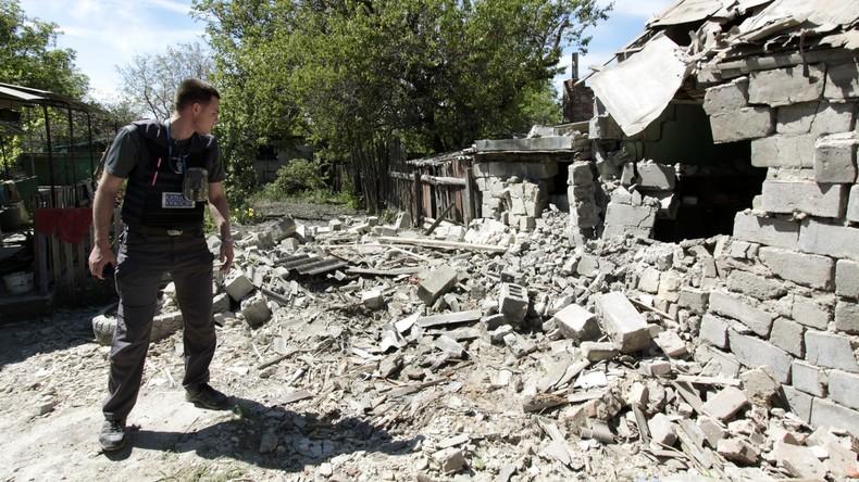 OSZE legt neue Statistiken zum Donbass-Konflikt vor: 47 Zivilisten seit Jahresbeginn gestorben