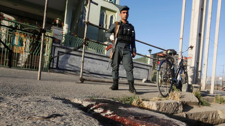 Vier afghanische Polizisten sterben bei Taliban-Angriff
