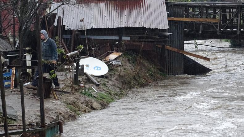 Starke Regen und Schneefälle in Chile fordern vier Menschenleben