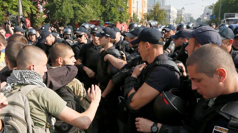Polizei fasst sechs Radikale bei Pride-Parade in Kiew