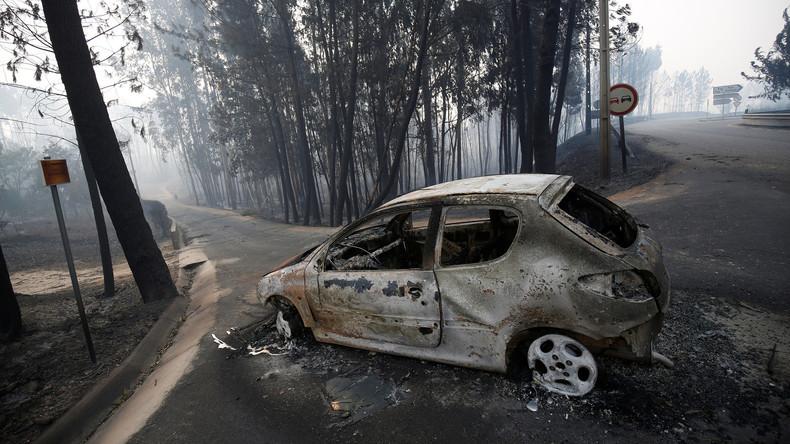 Zahl der Toten nach Waldbrand in Portugal steigt auf 62