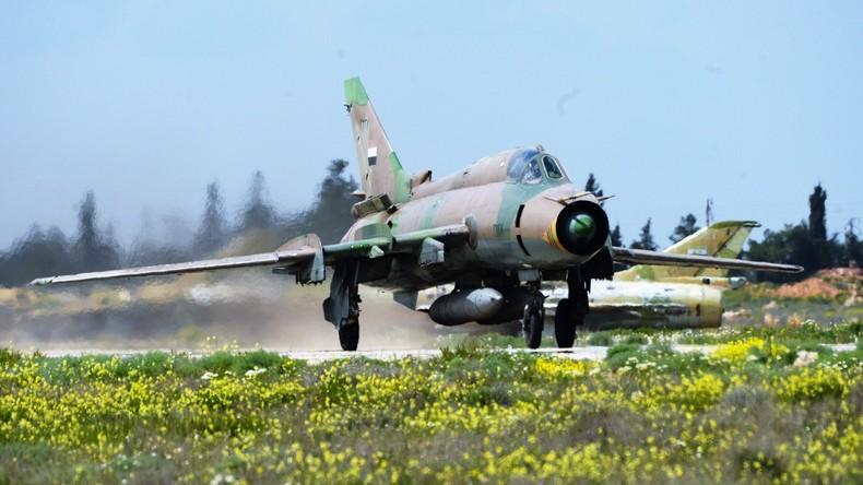 Syrien: Kein Unfall - Syrischer Kampfjet von US-Koalition abgeschossen