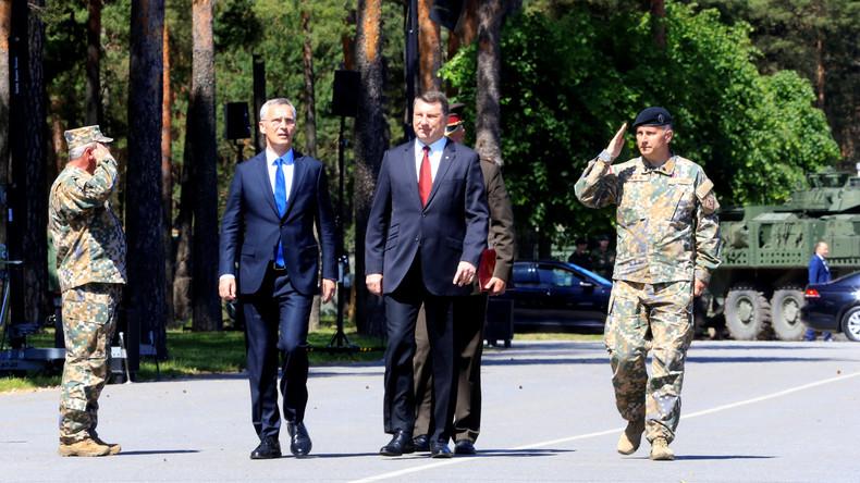 Stoltenberg: Stationierung von NATO-Truppen an Ostflanke vollendet