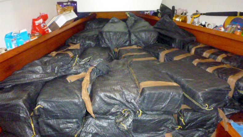Zwei Tonnen Kokain in Argentinien beschlagnahmt