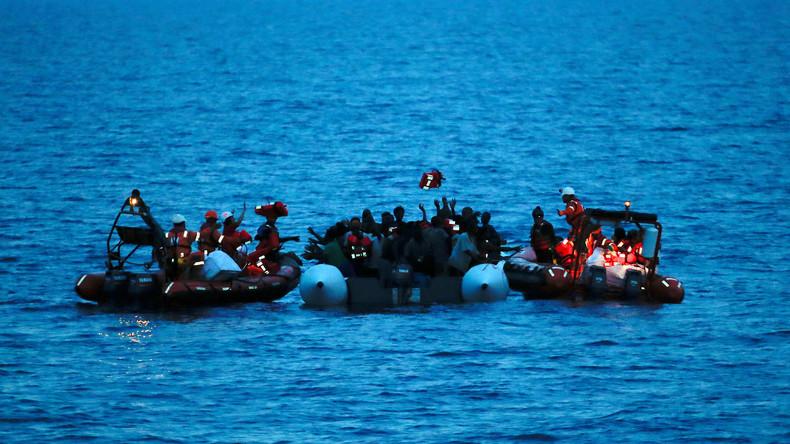 Schlepper nehmen Motor weg: Möglicherweise mehr als 120 Tote im Mittelmeer