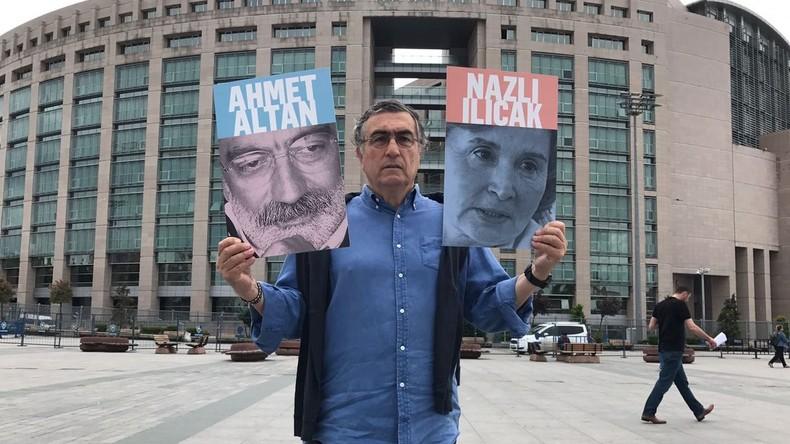 Prozess gegen Journalisten und Intellektuelle in der Türkei begonnen
