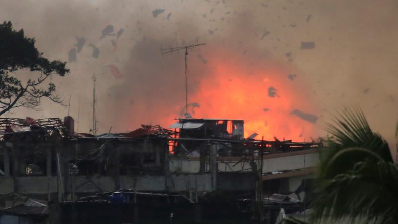 Kampf gegen Islamisten auf Philippinen geht weiter: Angeblich hunderte Opfer