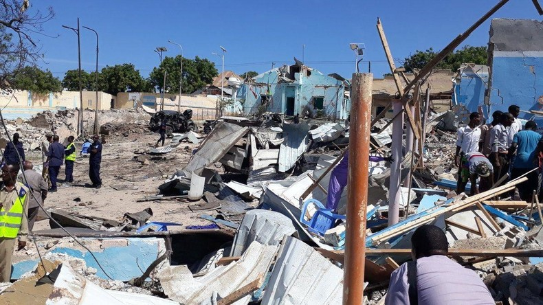 Schwere Explosion in Somalias Hauptstadt Mogadischu
