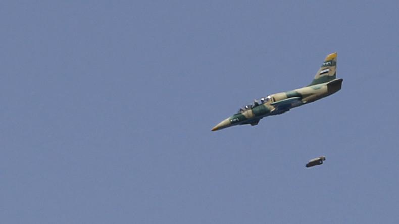 "Syrien: Armee immer noch auf Suche nach abgeschossenem Piloten - ""USA beschützen aktiv den IS"""
