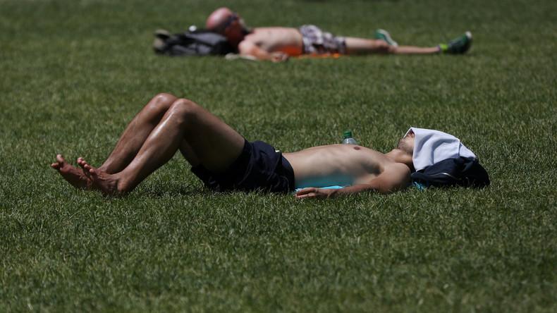 Weltwetterorganisation warnt vor Hitzewelle