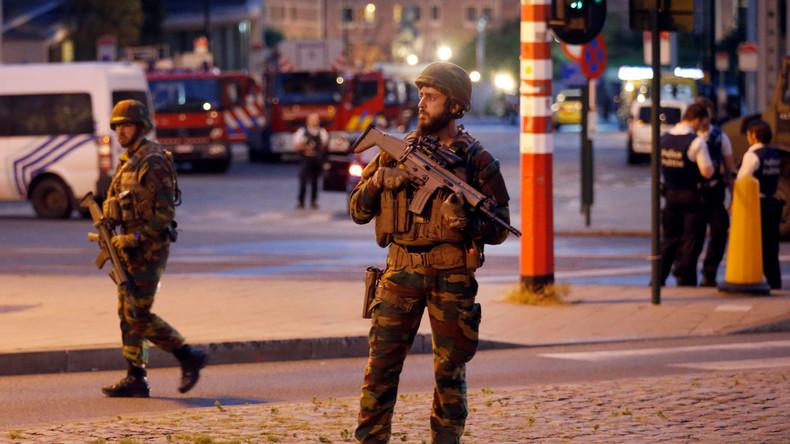 Vorfall am Zentralbahnhof von Brüssel: Schwerer Terroranschlag vereitelt
