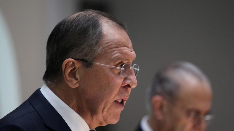 """Lawrow: """"Washington muss Abschuss von syrischem Kampfjet noch erklären"""""""