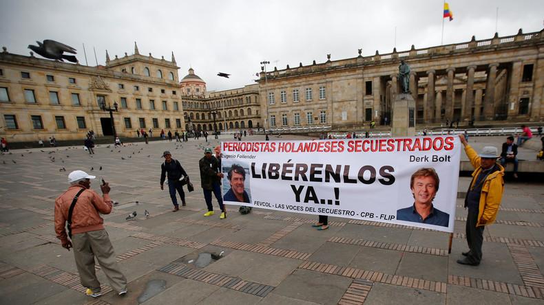Lokale Guerilla gesteht Entführung niederländischer Journalisten in Kolumbien