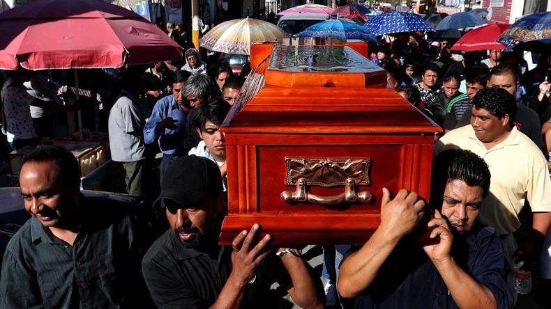 Gewaltwelle in Mexiko: Mordzahlen steigen auf historisches Hoch