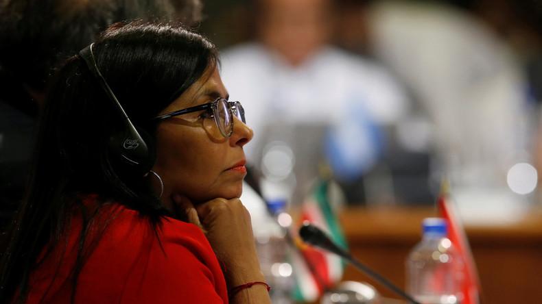 Venezuelas Präsident entlässt Außenministerin Delcy Rodríguez