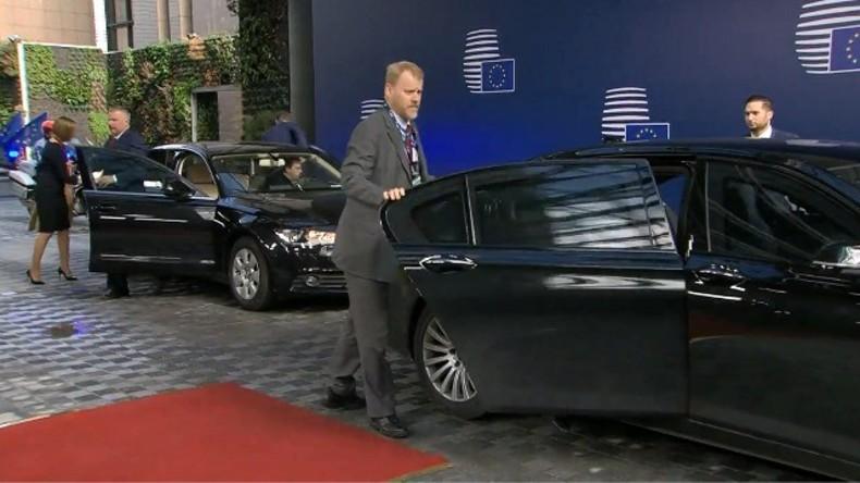 Live: Ankunft des EU-Rats in Brüssel: Themenschwerpunkte sind Migration, Sicherheit und Wirtschaft