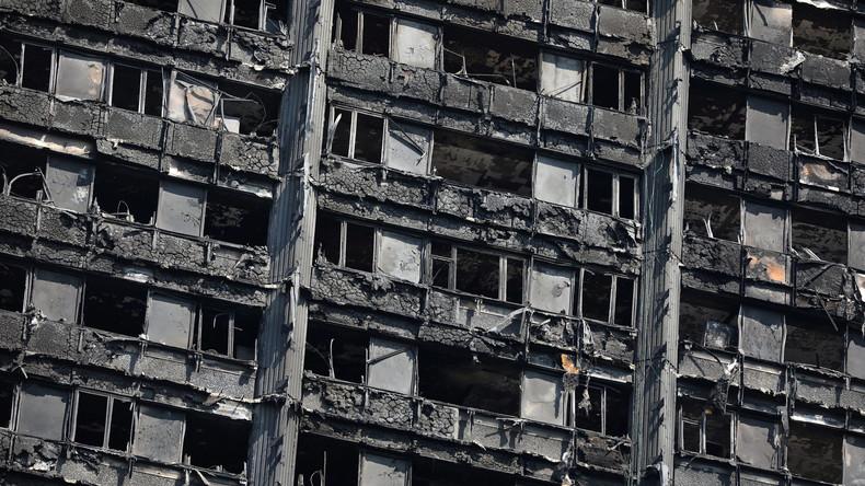 Polizei: Londoner Hochhausbrand durch Kühlschrank verursacht