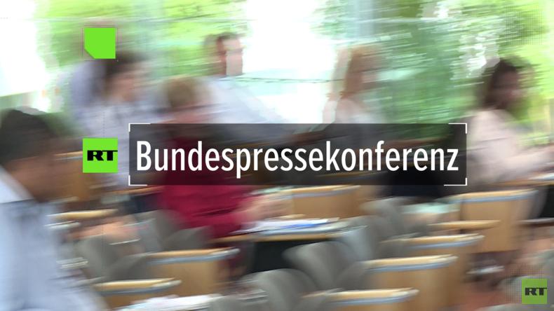 """Regierungssprecher Seibert blamiert sich bei Pressekonferenz: """"Auch RT kann besser recherchieren"""""""