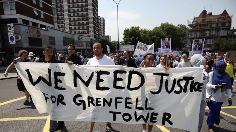 London: Tag des Zorns nach Hochhausbrand