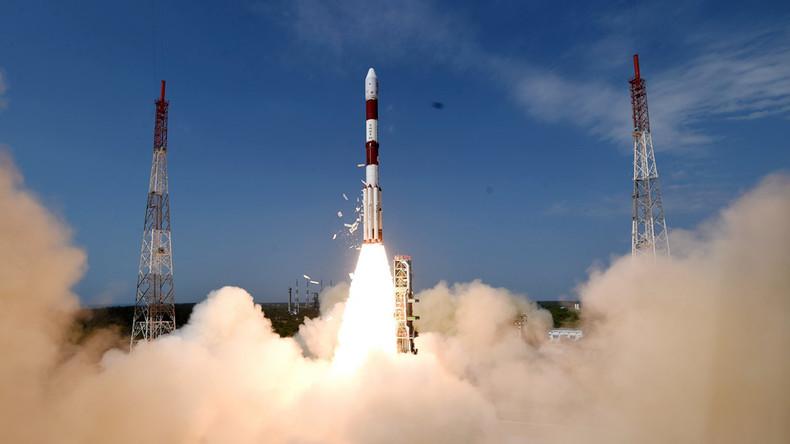 Indische Rakete bringt 31 Satelliten in Umlaufbahn