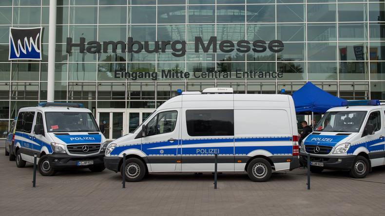 Straftaten geplant - Zwei Männer vor G20 kurzzeitig festgenommen