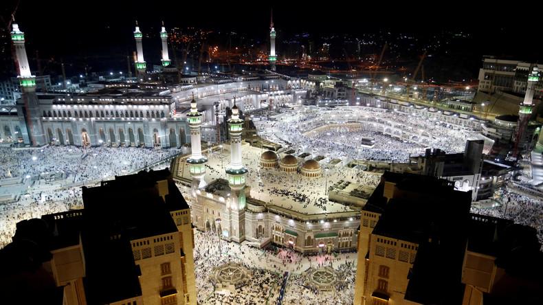 Saudi-arabische Polizei nimmt fünf Personen nach vereiteltem Anschlag in Mekka fest