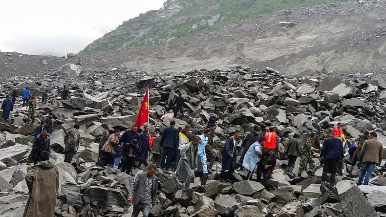 Mindestens 141 Menschen nach Erdrutsch in China vermisst