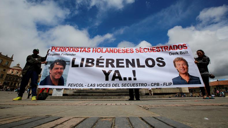 Kolumbien: Niederländische Journalisten weiterhin in Hand von ELN-Guerilla